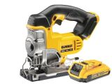 DeWalt DCS331 18 Volt XR Jigsaw 1 x 2.0ah DCB183 Li-Ion Battery
